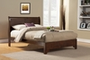Alpine Furniture - West Haven California King Low Footboard Sleigh Bed - 2200CK
