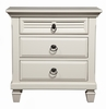 Alpine Furniture - Winchester 3 Drawer Nightstand - 1306-W-NS