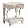 ART Furniture - Arch Salvage Gabriel Bedside Table - Mist - 233141-2823