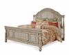 ART Furniture - Belmar II - King Panel Bed In Pine White Finish