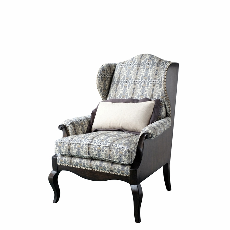 ART Furniture - Empyrean Sky Exposed Wood Wing Chair - 537519-5032AA