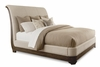 Art Furniture - St. Germain California King Uph. Platform Sleigh Bed - 215157-1513