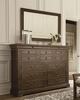 Art Furniture - St. Germain Large Dresser with Landscape Mirror - 215131-1513_215120-1513