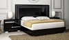 Athome USA - Volare King Size Bed in Black Lacquer Finish - VOBBLLT02