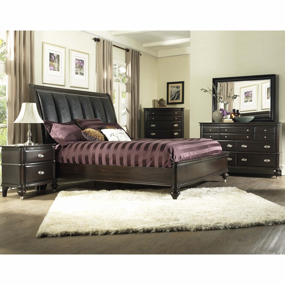 Avalon - Dundee Place 5 Piece King Bedroom Set - B00280-56R_6F_6H_C_D_M_N