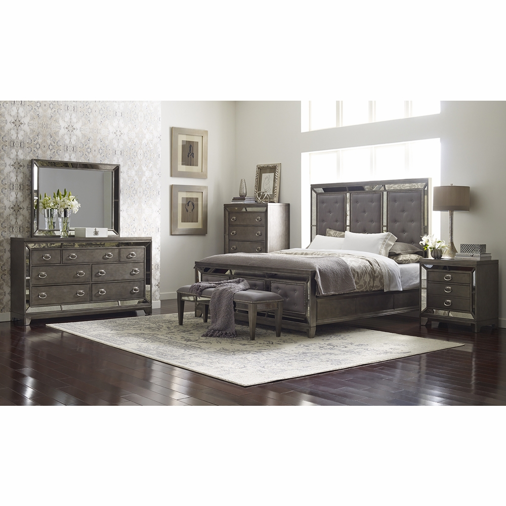 Avalon - Lenox 6 Piece King Bedroom Set