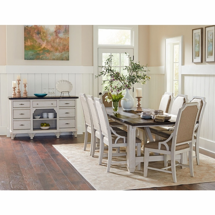 Avalon - Mystic Cay 10 Piece Dining Set With Sideboard - D00042-DC_DC_DC_DC_DT_SB