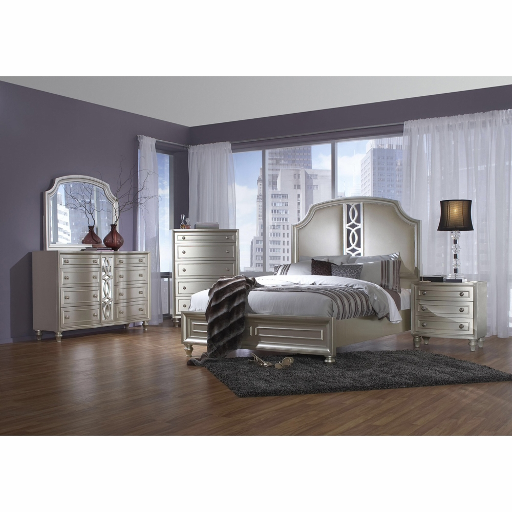 Avalon - Regency Park 5 Piece King Bedroom Set