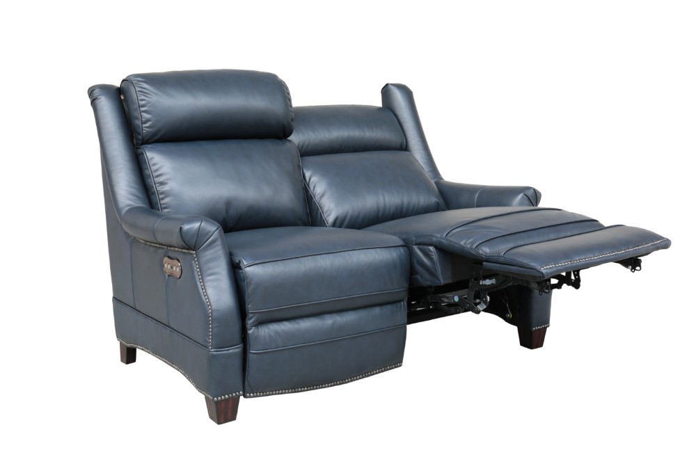 Outstanding Barcalounger Warrendale Power Reclining Loveseat With Power Head Rests Shoreham Blue Leather 29Ph3324570047 Alphanode Cool Chair Designs And Ideas Alphanodeonline