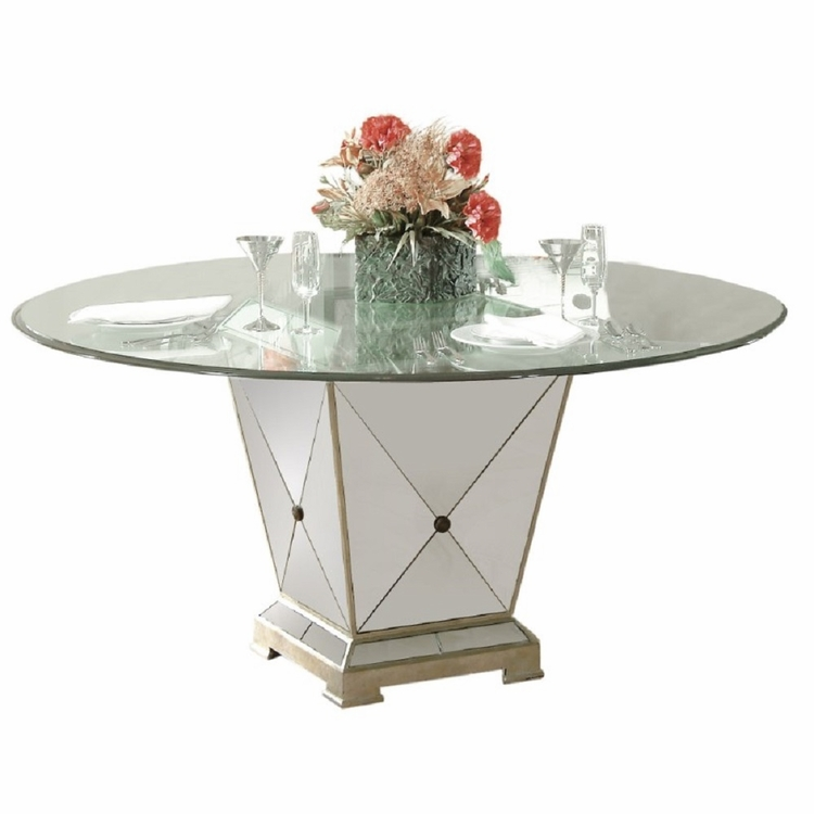 Bassett Mirror - Borghese Round Dining Table - 8311-601-906EC