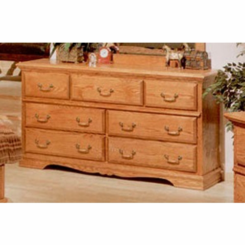 Bebe Furniture - Country Heirloom 7 Drawer Dresser - 500N/C