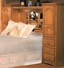 Bebe Furniture - Country Heirloom Queen Pier Wall - 600Q-N/C