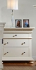 Bebe Furniture - Soraya 3 Drawer Nightstand - 8450
