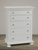 Bebe Furniture - Soraya 5 Drawer Chest - 8300