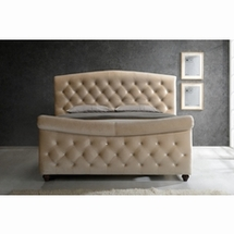 Bedroom Queen Sleigh Beds by Meridian Furniture