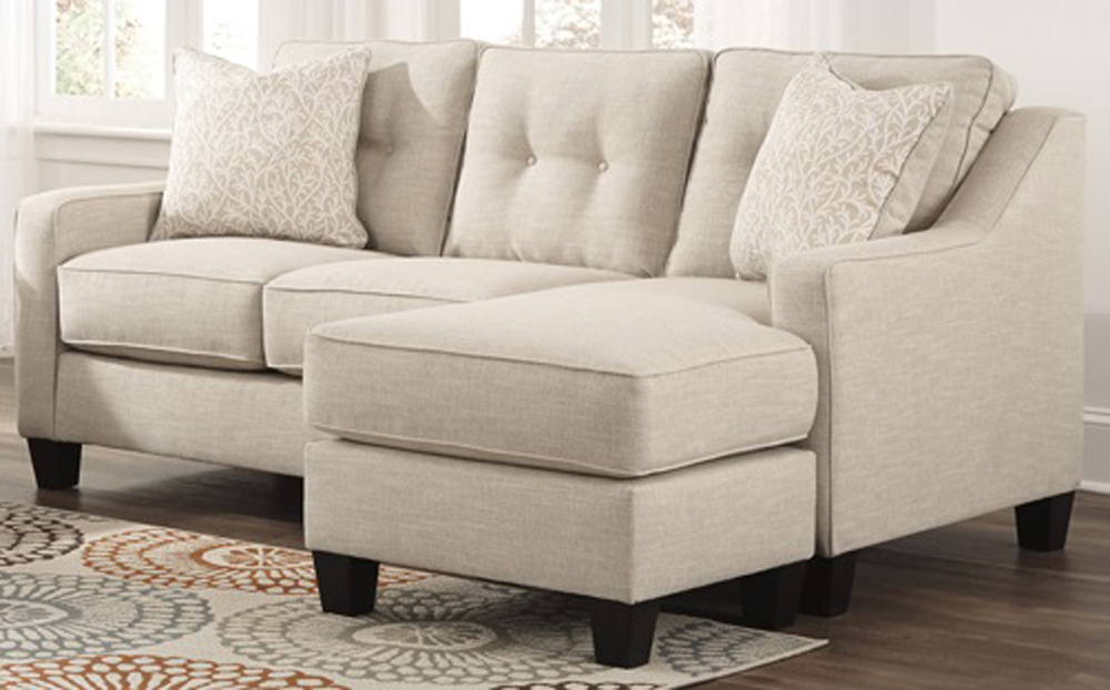 Outstanding Benchcraft Aldie Nuvella Sofa Chaise In Sand 6870518 Gmtry Best Dining Table And Chair Ideas Images Gmtryco