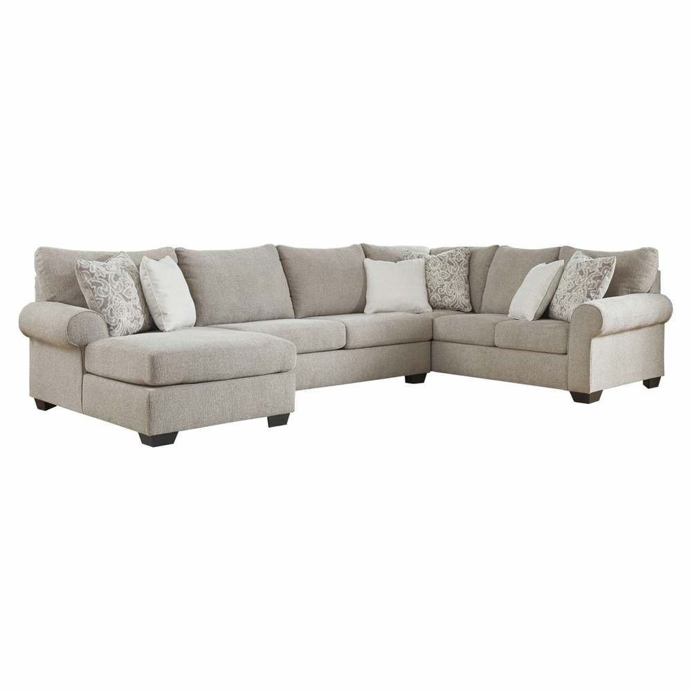Swell Benchcraft Baranello 3 Piece Sectional With Laf Corner Chaise Beatyapartments Chair Design Images Beatyapartmentscom