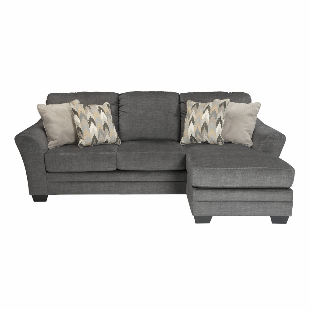 Groovy Benchcraft Braxlin Charcoal Sofa Chaise 8850218 Onthecornerstone Fun Painted Chair Ideas Images Onthecornerstoneorg