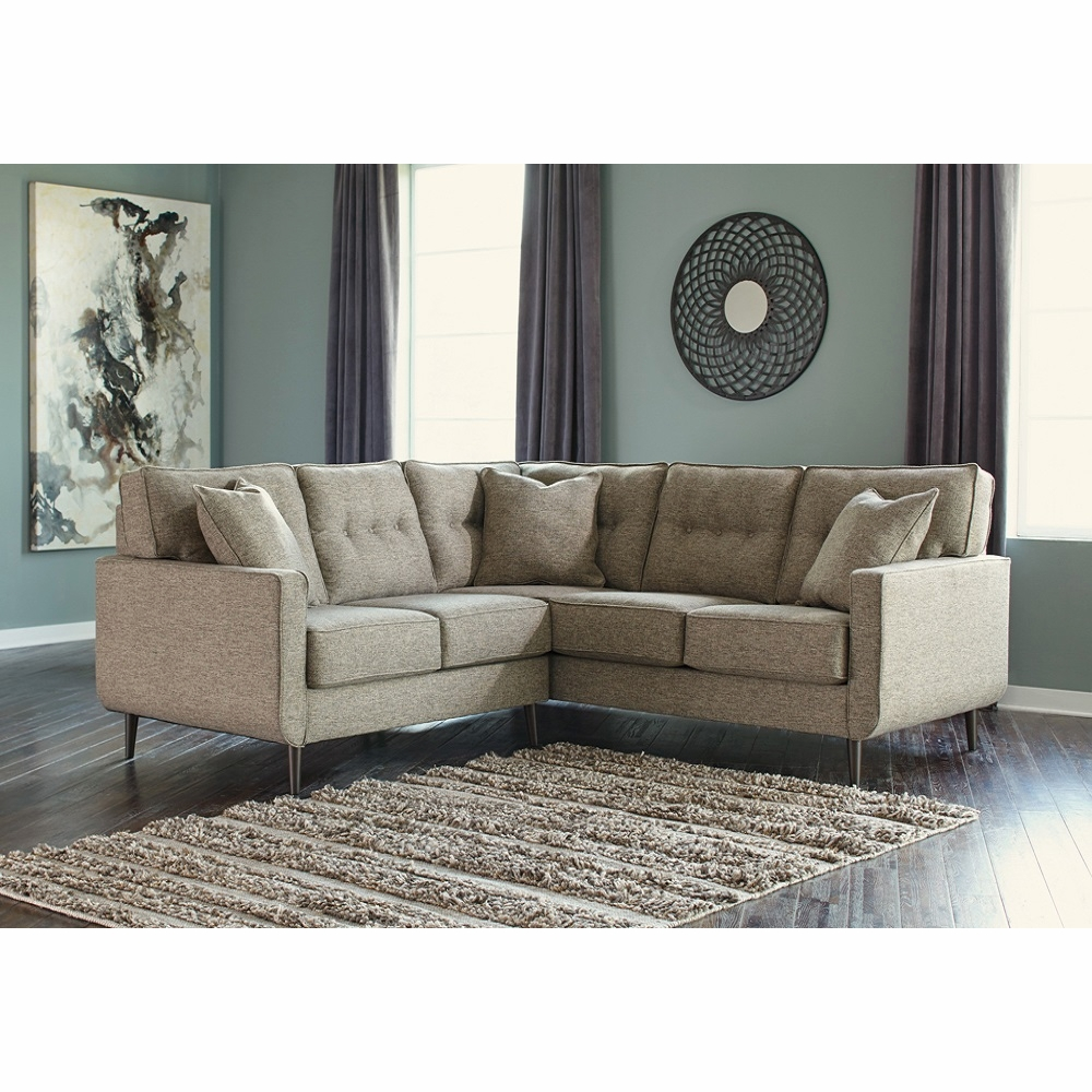 Incredible Benchcraft Dahra 2 Piece Sectional With Laf Loveseat Cjindustries Chair Design For Home Cjindustriesco