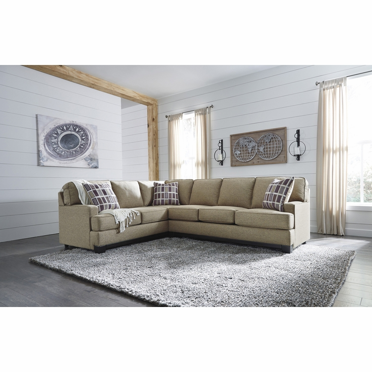 Benchcraft - Larkhaven 2-Piece Sectional with LAF Sofa with Corner Wedge