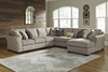 Benchcraft - Pantomine (Driftwood) 5-Piece Sectional B