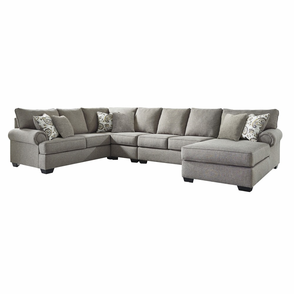 Benchcraft - Renchen 4-Piece Sectional with RAF Corner Chaise