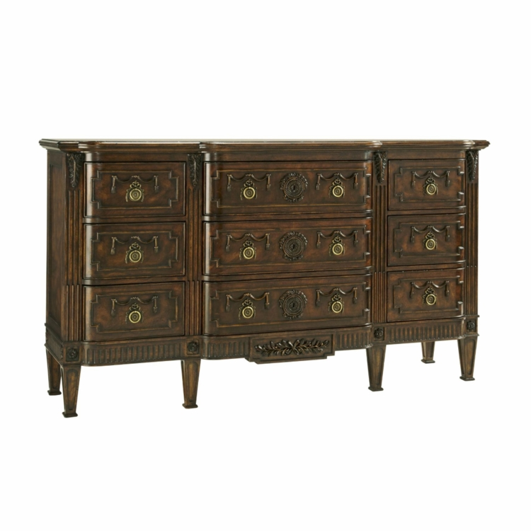 Biltmore by Fine Furniture Design - Triple Dresser - 1340-124