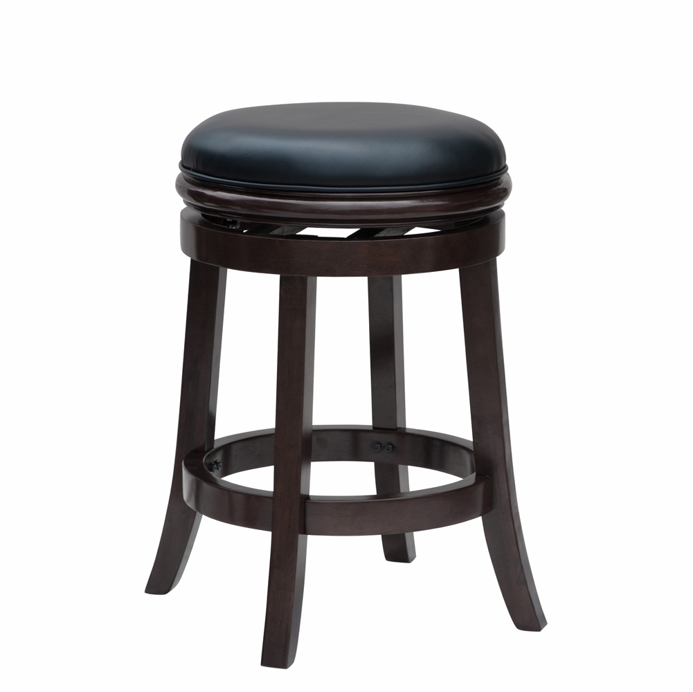 Fabulous Boraam 24 Boraam Backless Counter Stool In Cappuccino 44824 Squirreltailoven Fun Painted Chair Ideas Images Squirreltailovenorg