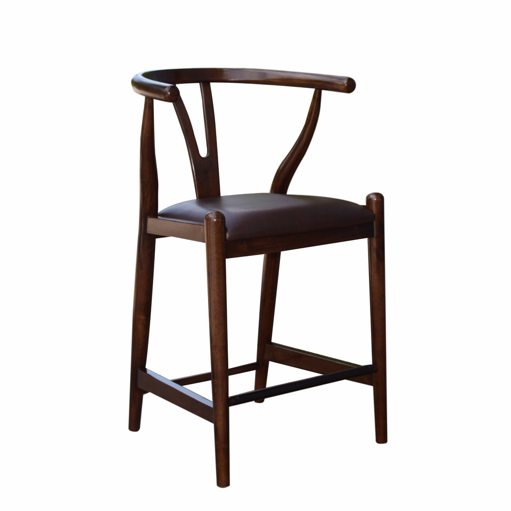 Stupendous Boraam 24 Wishbone Counter Stool In Cappuccino 52024 Squirreltailoven Fun Painted Chair Ideas Images Squirreltailovenorg