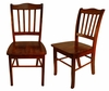 Boraam - Shaker Chair in Walnut  Set of 2 - 30636