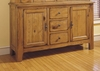 Broyhill - Attic Heirlooms China Base in Natural Oak Stain - 5397-65S