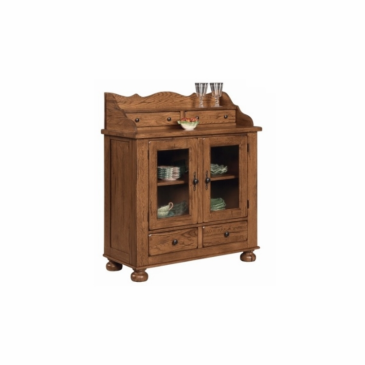 Broyhill - Attic Heirlooms Dining Chest in Natural Oak Stain - 5397-60SV
