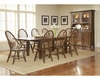 Broyhill - Attic Heirlooms Rustic Oak Finish Dining Room Set L