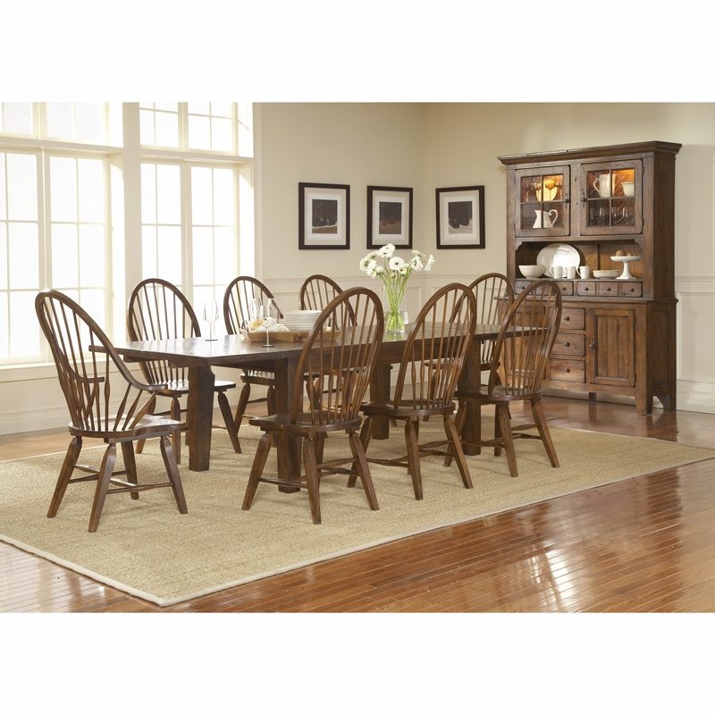 broyhill dining room sets broyhill attic heirlooms rustic oak finish dining room set l 826