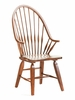 Broyhill - Attic Heirlooms Windsor Arm Chair in Natural Oak Stain  Set of 2 - 5397-84S