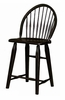 Broyhill - Attic Heirlooms Windsor Counter Stool in Antique Black  Set of 2 - 5397-97B