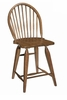 Broyhill - Attic Heirlooms Windsor Counter Stool in Natural Oak Stain  Set of 2 - 5397-97S