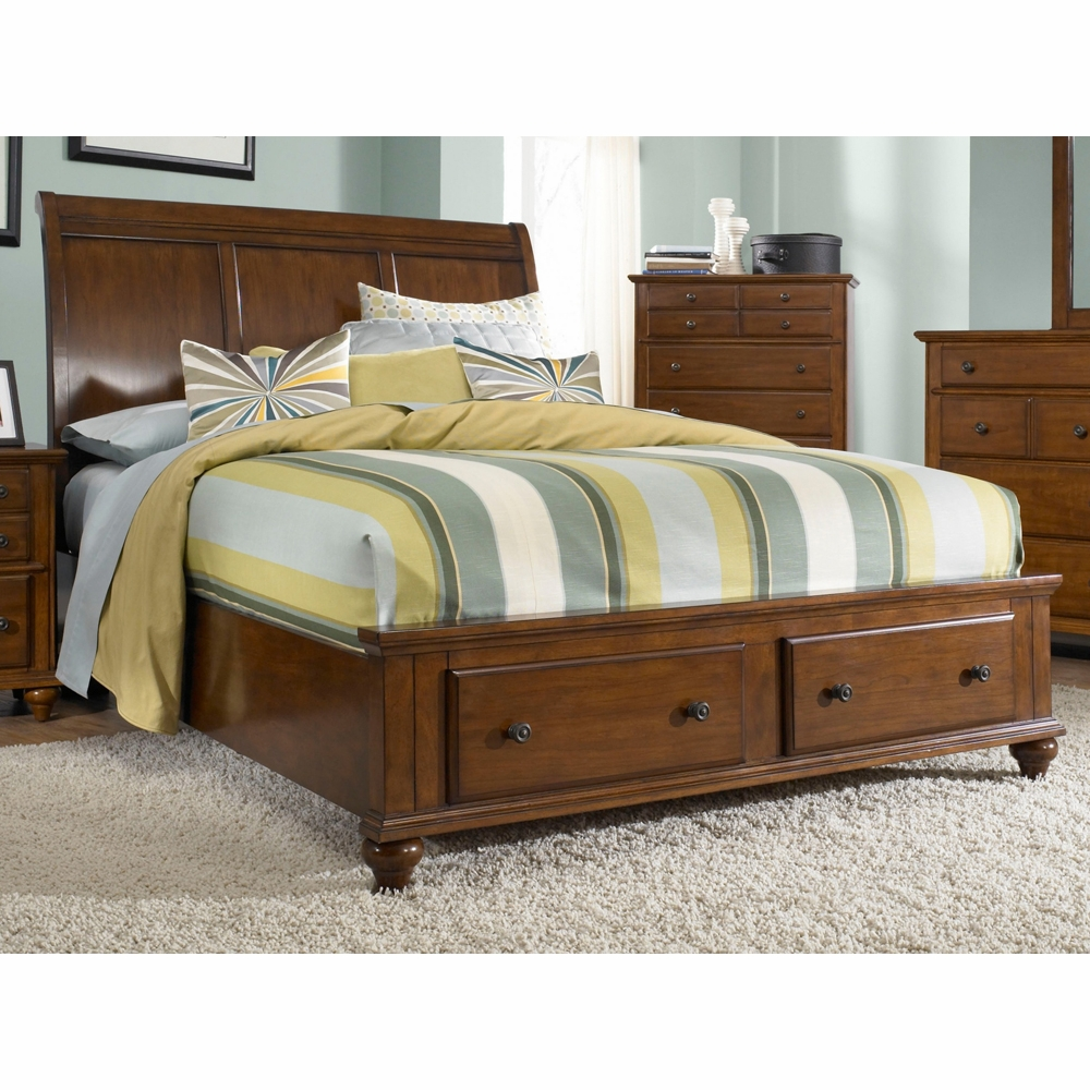 Broyhill Hayden Place King Sleigh Bed With Storage