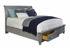 Broyhill - Kearsley Queen Sleigh Bed With Storage Footboard - 4857-260_263_460