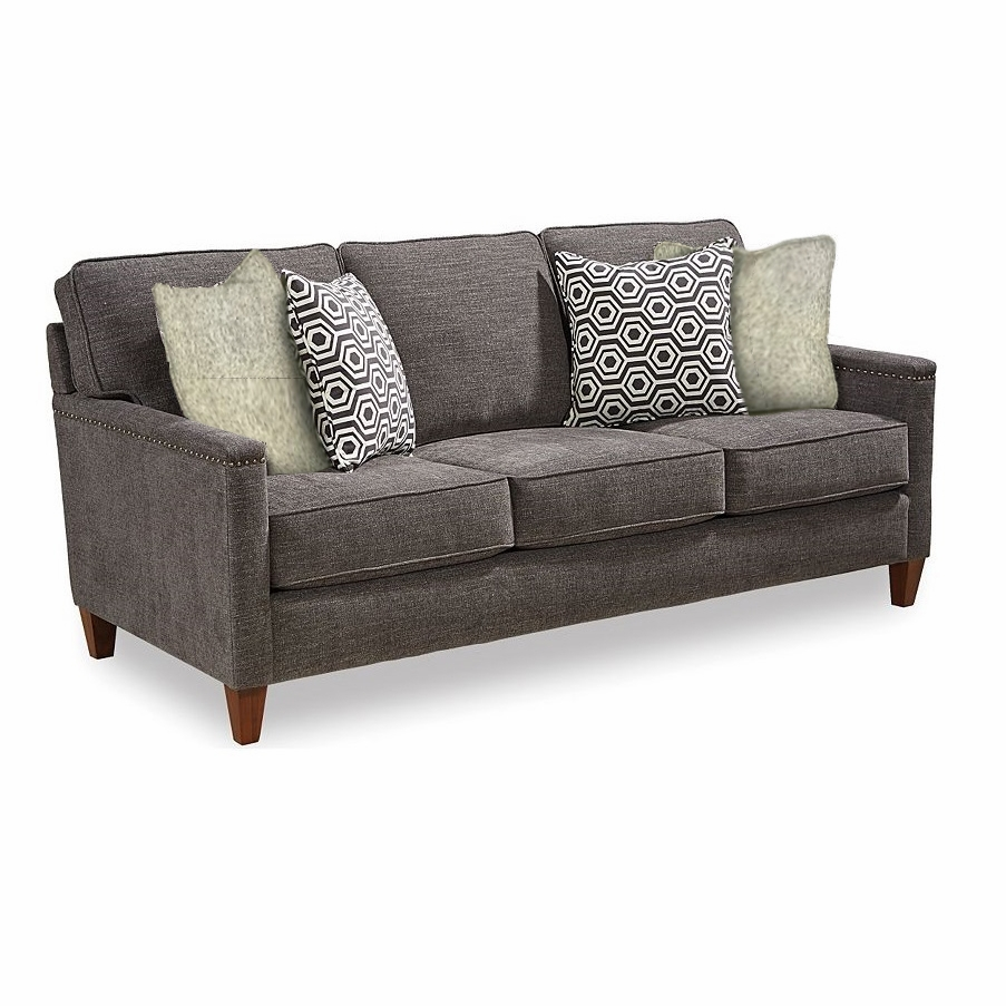 Stone Leigh Lawson Sofa In Black 4254 3q