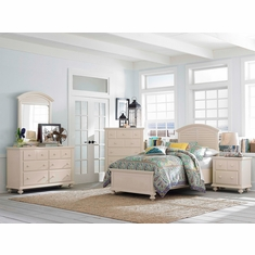 Broyhill Seabrooke 5 Piece Twin Panel Bedroom Set
