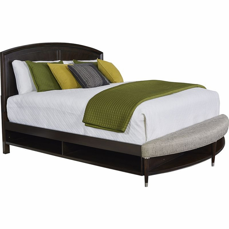 Pa Sales Tax >> Broyhill - Vibe Cal King Panel Bed with Storage and Radius Bench Footboard