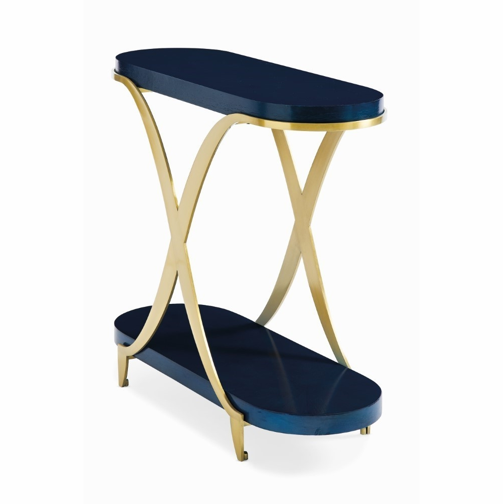 - Caracole - Classic Blue By You Accent Table - CLA-018-414