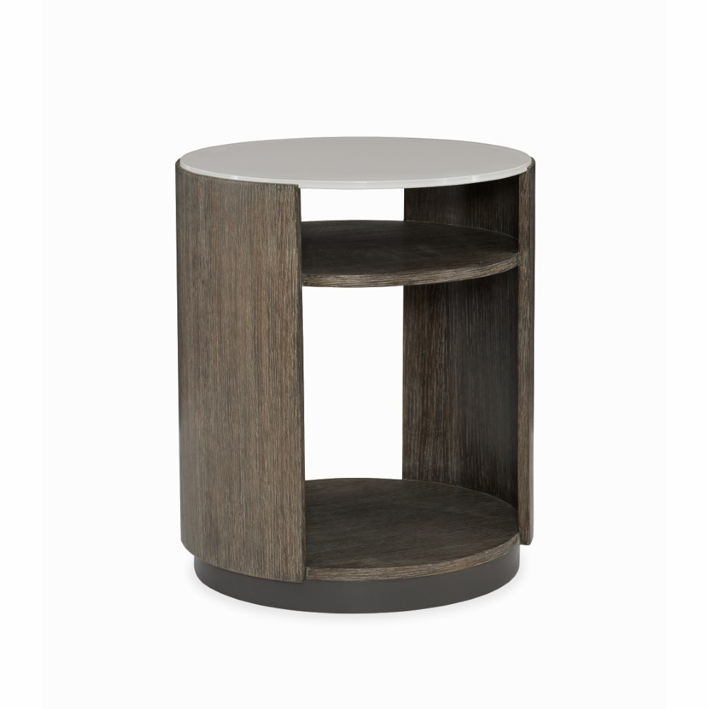 Caracole Modern Fusion Drum Side Table M051 017 413
