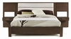 Casana - Hudson Upholstered Platform Bed With Panel Night Stands Queen Sized - 525-908KQ