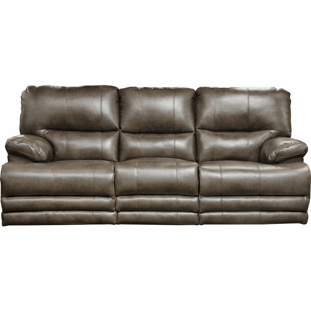 Austin Dusk Lay Flat Reclining Sofa W/Center