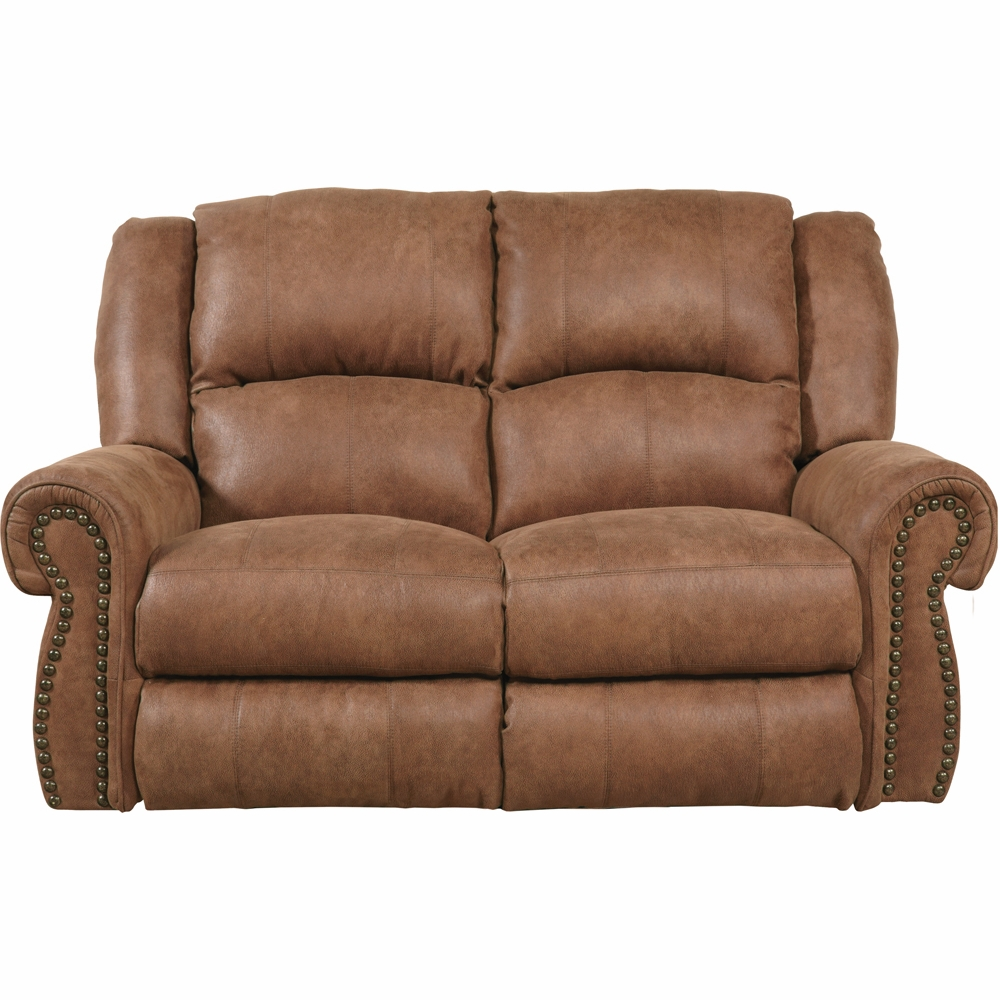Catnapper Westin Nutmeg Rocking Reclining Loveseat 1052 2