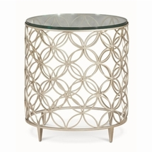 Chairside Tables by Caracole