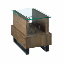 Chairside tables by Hammary Furniture