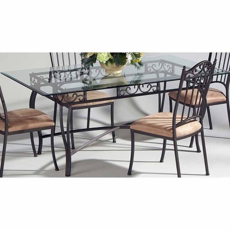 Chintaly - Dining Table Rectangle With Bevel Edge - 0710-DT-RCT